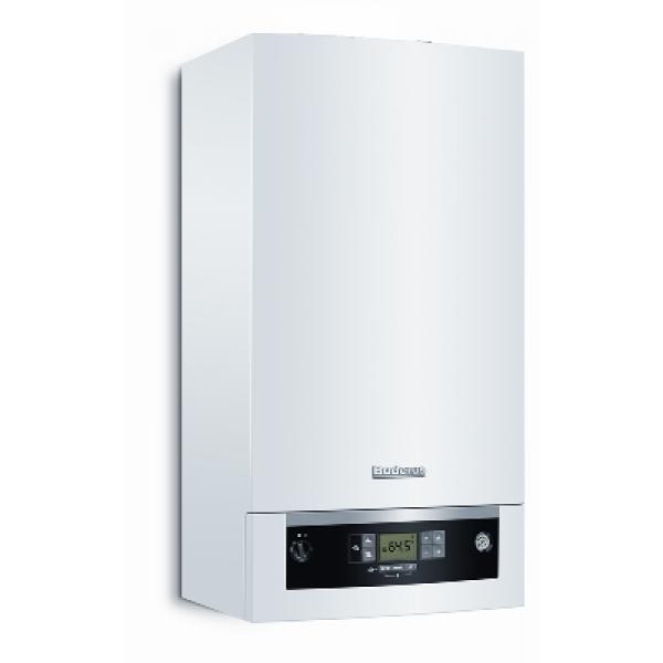 Επίτοιχος λέβητας συμπύκνωσης αερίου Buderus Logamax plus GB072-24K  24KW με ζεστό νερό χρήσης