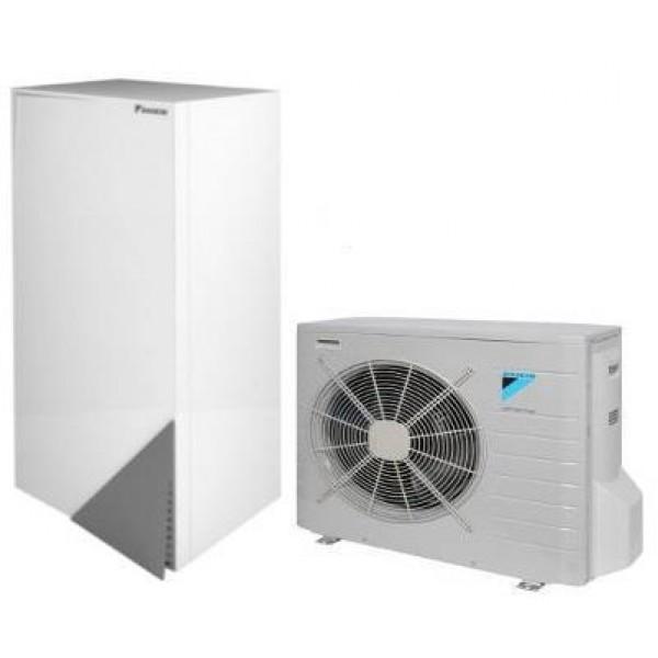 EHBX08C9W / ERLQ006CV3 Daikin Altherma down to -25ᵒC 8,16/6,0 kw ψύξη/θέρμανση με θερμαντήρα 9kw τριφασικό
