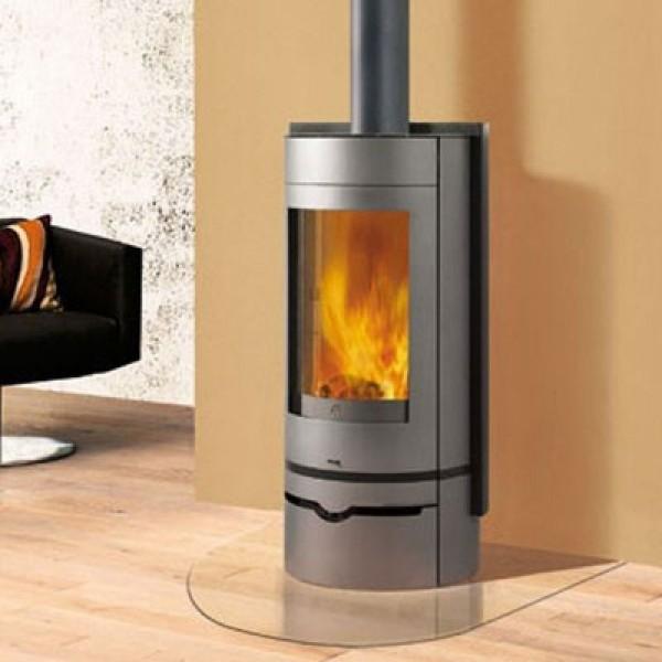 Ενεργειακή σόμπα ξύλου αερόθερμη VOGUE 6Kw EDILKAMIN 620160